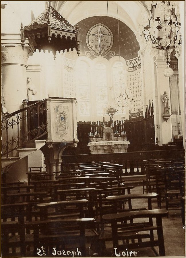 St-Joseph- intérieur de l'église 1