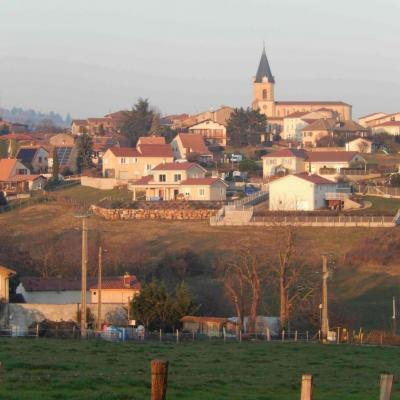 Vue du village de la Plaine