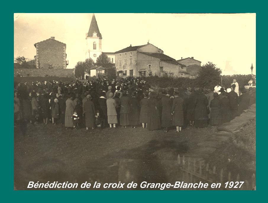 Be ne dict croix grange blanche 1927