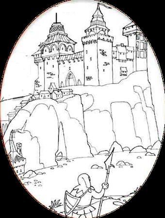 Dessin chateau