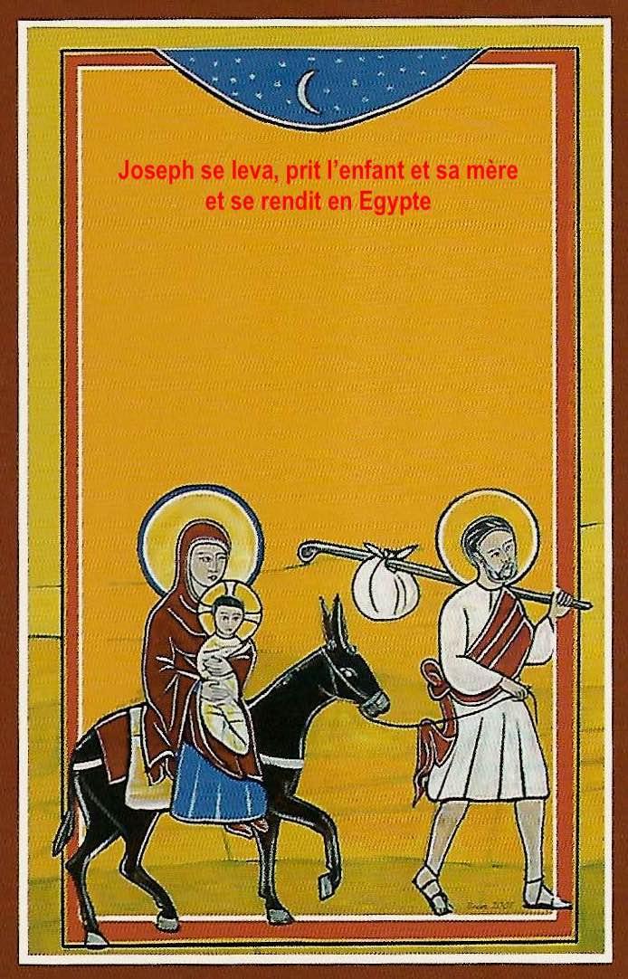 Fuite en egypte