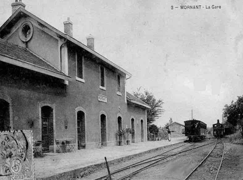 Gare de mornant