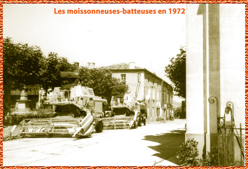 Moissonneuse batteuse 73