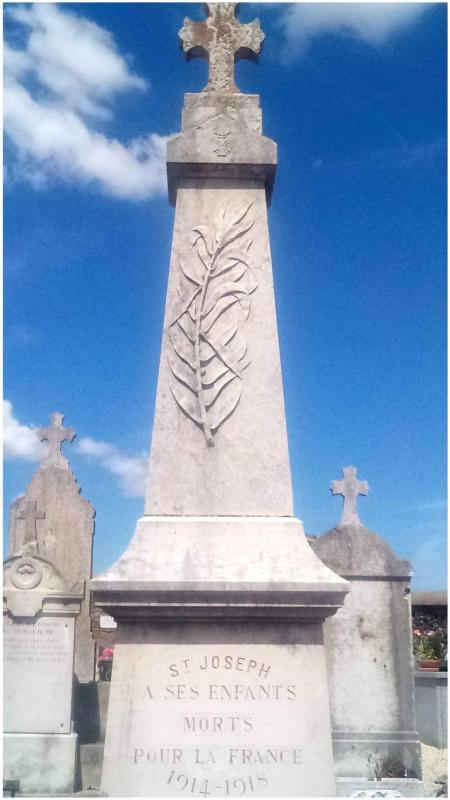 Monument aux morts guerre