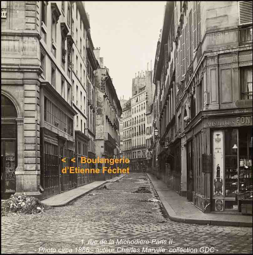 Rue michodie re 1866