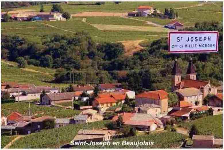 St joseph en beaujolais