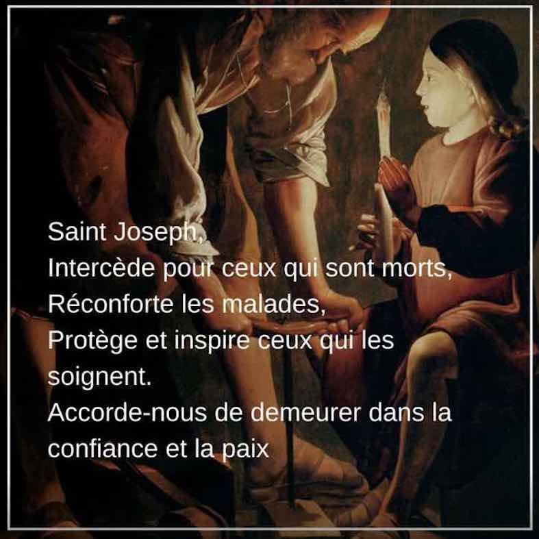 St joseph intercede pour nous