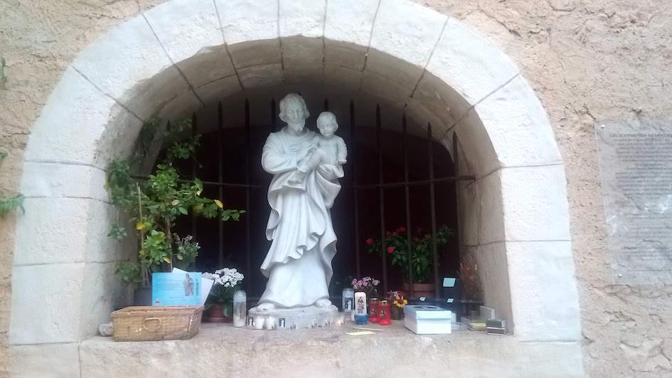 Statue cotignac